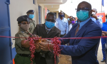 Crown Paints renovates Muugano Police Station as it upgrades to full-fledged station