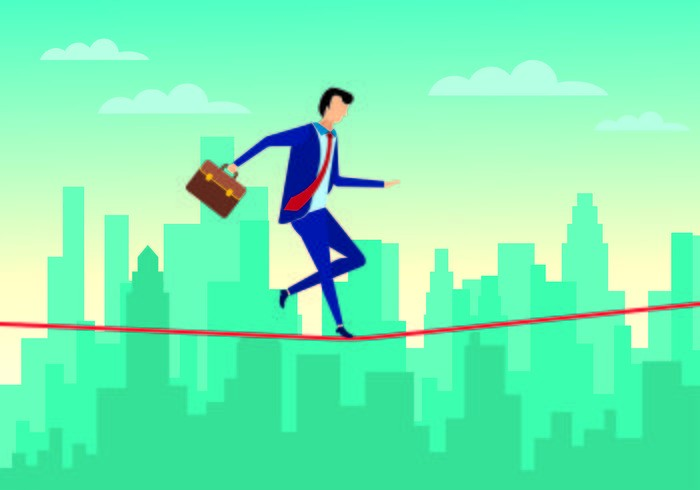 businessman-walking-on-tightrope-with-confidence-vector