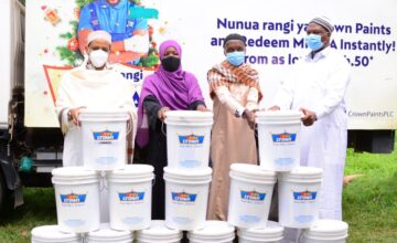 Crown Paints donates Ksh. 1m to Crown Iftar for vulnerable Muslim families