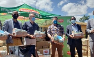 Del Monte Kenya is reaching out to support 600 vulnerable families in Murangá County