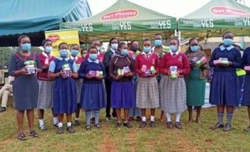 Del Monte Kenya Distributes 5,200 Sanitary Pads To 900 Girls