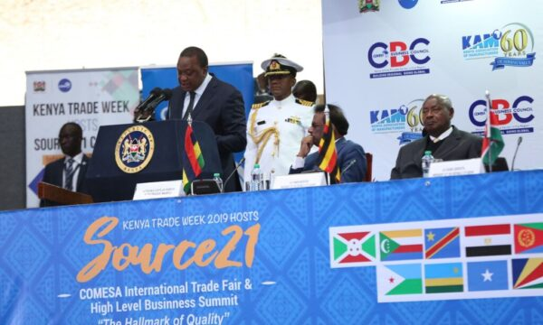 Kenya hosting the Source 21 Common Market for Eastern and Southern Africa (COMESA) International Trade Fair and high-level business summit.