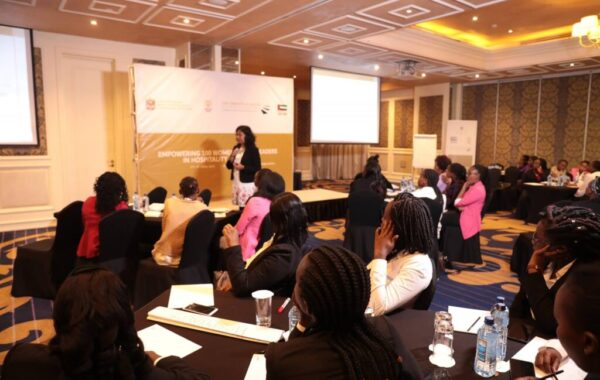 Empowering 100 Women Future Leaders In Hospitality Excellence training programme by United Arab Emirates (UAE).