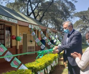 Del Monte Kenya Limited launching a 6-bed holding/isolation room to be used in the event of employees exhibiting COVID – 19 symptoms.